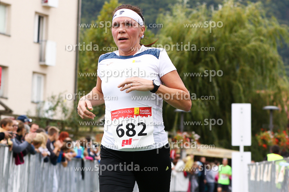 Metja Luznih competes during 3. Konjiski maraton / 3rd Marathon of Slovenske Konjice, on September 27, 2015 in Slovenske Konjice, Slovenia. Photo by Urban Urbanc / Sportida