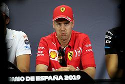May 9, 2019 - Barcelona, Spain - Motorsports: FIA Formula One World Championship 2019, Grand Prix of Spain, ..#5 Sebastian Vettel (GER, Scuderia Ferrari Mission Winnow),......(Verwendung nur in Deutschland - GERMANY ONLY) (Credit Image: © Hoch Zwei via ZUMA Wire)