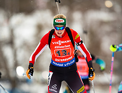 March 16, 2019 - –Stersund, Sweden - 190316 Lisa Theresa Hauser of Austria competes in the Women's 4x6 km Relay during the IBU World Championships Biathlon on March 16, 2019 in Östersund..Photo: Johan Axelsson / BILDBYRÃ…N / Cop 245 (Credit Image: © Johan Axelsson/Bildbyran via ZUMA Press)