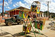Small ferris wheel in Ciro Redondo, Ciego de Avila, Cuba.