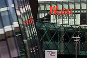 Architecture and design of the Westfield City shopping centre in Stratford, home of the 2012 Olympics. Situated on the fringe of the 2012 Olympic park, Westfield hosted its first day to thousands of shoppers eager to see Europe's largest urban shopping centre. The £1.45bn complex houses more than 300 shops, 70 restaurants, a 14-screen cinema, three hotels, a bowling alley and the UK's largest casino. It will provide the main access to the Olympic park for the 2012 Games and a central 'street' will give 75% of Olympic visitors access to the main stadium so retail space and so far 95% of the centre has been let. It is claimed that up to 8,500 permanent jobs will be created by the retail sector.