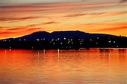 Lake Spenard Sunset Alaska