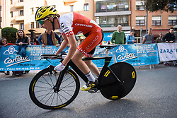 Doris Schweizer (Cylance Pro Cycling) - Emakumeen Bira 2016 Prologue - A 3.3km time trial in Durango, Spain on 13th April 2016.