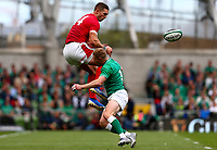 Rugby Union - 2019 pre-Rugby World Cup warm-up (Guinness Summer Series) - Ireland vs. Wales<br /> <br /> George North (Wales) and Keith Earls (Ireland) in action at The Aviva Stadium.<br /> <br /> COLORSPORT/KEN SUTTON