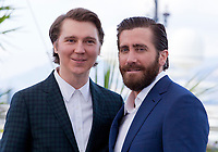 Actors Paul Dano and Jake Gyllenhaal at the Okja film photo call at the 70th Cannes Film Festival Friday 19th May 2017, Cannes, France. Photo credit: Doreen Kennedy