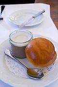 Neusiedlersee (Lake Neusiedl), Podersdorf am See. Burgenland, Austria.<br /> Zur Dankbarkeit.<br /> Jiddischer Hühnerleberaufstrich (Jewish chicken liver).