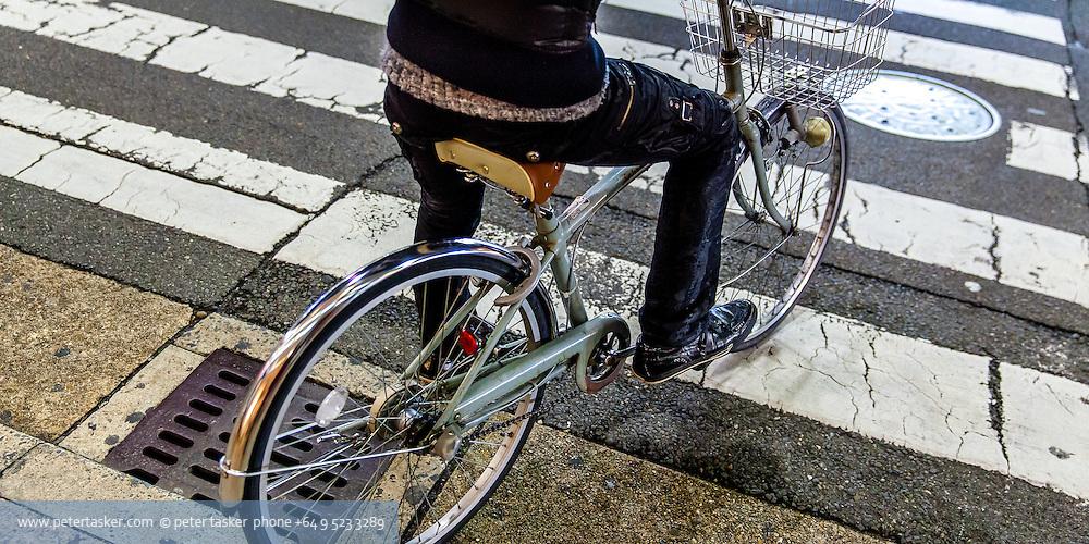 Mamachari style bicycle in Japan.