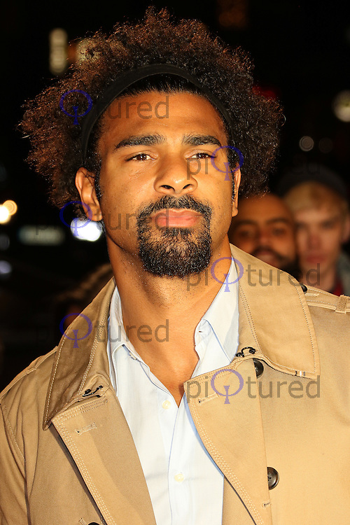 David Haye, The Naked Heart Foundation's Fabulous Fund Fair, Roundhouse, London UK, 21 February 2017, Photo by Richard Goldschmidt