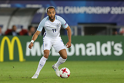 June 22, 2017 - Kielce, Poland - Nathan Redmond (ENG), during the UEFA European Under-21 Championship Group A match between England and Poland at Kielce Stadium on June 22, 2017 in Kielce, Poland. (Credit Image: © Foto Olimpik/NurPhoto via ZUMA Press)