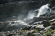 Wasserfall unter Gauligletscher