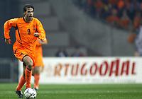 Fotball<br /> Play Off til EM 2004<br /> Nederland v Skottland 6-0<br /> 20.11.2003<br /> Foto: Digitalsport<br /> Norway Only<br /> <br /> Nederland - Schotland , 6-0 , 19-11-2003 , play-offwedstrijd EURO 2004 , Ruud van Nistelrooy viert zijn doelpunt voor de 6-0
