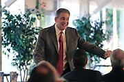 "Bob Burg, author of ""The Go-Giver""  discussing how to increase business and generate referrals during a seminar for business owners in New Jersey."