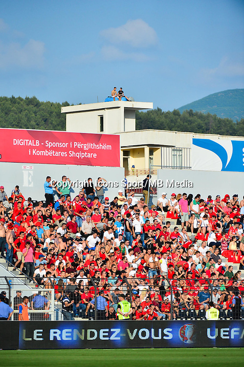 Supporters Albanie - 13.06.2015 - Albanie / France - Match Amical - Tirana<br />Photo : Dave Winter / Icon Sport