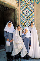 School girls - Mahan - Kerman province - Iran