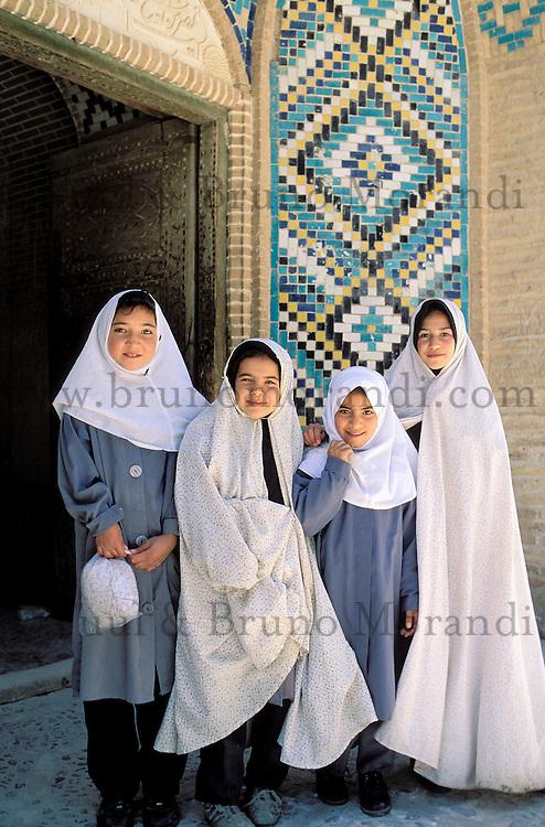 School girls - Mahan - Kerman province - Iran
