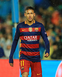 Neymar of Barcelona  - Mandatory byline: Matt McNulty/JMP - 16/03/2016 - FOOTBALL - Nou Camp - Barcelona,  - FC Barcelona v Arsenal - Champions League - Round of 16