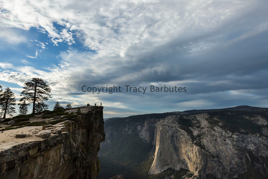 Taft Point, El Cap and Yosemite Valley as seen from the Taft Point Area in Yosemite National Park.
