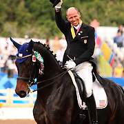 Steffen Peters and Weltino's Magic at the 2011 Pan American Games in Guadalajara, Mexico.