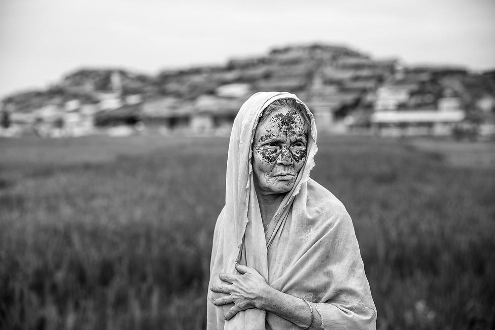Since the end of august 2017, the beginning of the crisis, more than 600,000 Rohingyas have fled Myanmar to  seek refuge in Bangladesh. Cox's Bazar -october 25th 2017.<br /> Depuis le début de la crise, fin août 2017, plus de 600000 Rohingyas ont fuit la Birmanie pour trouver refuge au Bangladesh. Cox's Bazar le 28 octobre 2017.