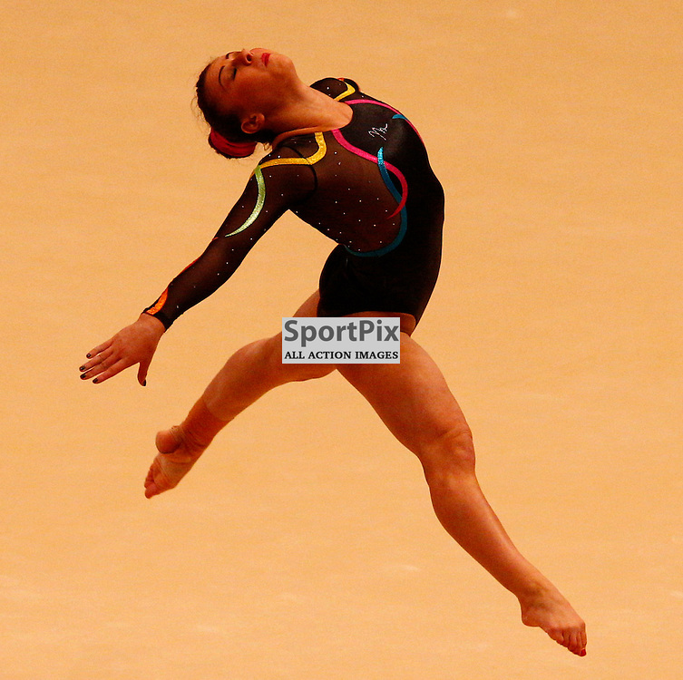 2015 Artistic Gymnastics World Championships being held in Glasgow from 23rd October to 1st November 2015...Claudia Fragapane (Great Britain) competing in the Floor Exercise competition...(c) STEPHEN LAWSON | SportPix.org.uk