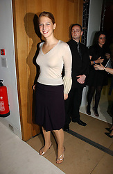LADY GABRIELLA WINDSOR at an exhibition of David Hockney portraits at the National Portrait Gallery sponsored by Burberry on 11th October 2006.<br /><br />NON EXCLUSIVE - WORLD RIGHTS
