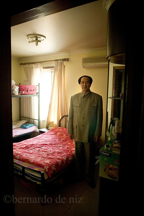 An Chines actor performance Mao. Beijing, China. April 2007Photo:Bernardo De Niz