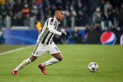 February 13, 2018 - Turin, Italy - Alex Sandro of Juventus during the UEFA Champions League Round of 16 match between Juventus and Tottenham Hotspur at the Juventus Stadium, Turin, Italy on 13 February 2018. (Credit Image: © Giuseppe Maffia/NurPhoto via ZUMA Press)