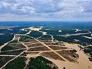 Nederland, Gelderland, Harskamp, 21–06-2020; Harskampsche Zand, Legerplaats Harskamp(Generaal Winkelman Kazerne), militair oefenterrein voorinfanterie - Infanterie Schietkamp (ISK).<br /> Harskamp, Army location Harskamp (General Winkelman Barracks), military training area for infantry.<br /> <br /> luchtfoto (toeslag op standard tarieven);<br /> aerial photo (additional fee required);<br /> copyright foto/photo Siebe Swart