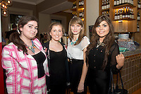Orla Martyn, Milltown, Helen Birmingham, Galway city Patricia Forde Abbeyknockmore and Sinead McNamee Galway city at the launch of Quickest Fox Marketing's latest Twitter sensation #galwayhour took place at the the Gaslight Bar & Brasserie at Hotel Meyrick.  Photo:Andrew Downes.