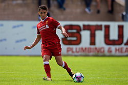 NUNEATON, ENGLAND - Sunday, July 30, 2017: Liverpool's Yan Dhanda during a pre-season friendly between Liverpool and PSV Eindhoven at the Liberty Way Stadium. (Pic by Paul Greenwood/Propaganda)