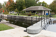 The Lock Station (13 - Black Rapids) on the Rideau River in Ottawa, Ontario, Canada
