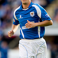 St Johnstone Season 2008-09<br /> Paul Sheerin<br /> <br /> Picture by Graeme Hart.<br /> Copyright Perthshire Picture Agency<br /> Tel: 01738 623350  Mobile: 07990 594431