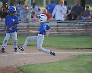 The Blue Jays' Jackson Newman in Oxford Park Commission baseball action at FNC Park in Oxford, Miss. on Tuesday, May 7, 2013.