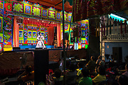 Chae Lung Ngek Lao Chung troupe  performs in bangkok's Chinatown