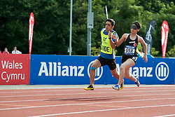 YILMAZER Oznur, Guide ERIS Arda, 2014 IPC European Athletics Championships, Swansea, Wales, United Kingdom