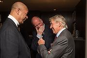 MARK HOLBORN; MICHAEL ROBERTS; DON MCCULIN, Don McCullin: Eighty. Hamiltons, Carlos Place, London. 24 September 2015.