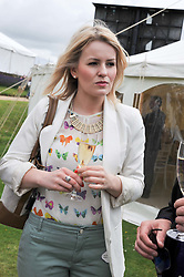 LEONORA SURTEES at a luncheon hosted by Cartier for their sponsorship of the Style et Luxe part of the Goodwood Festival of Speed at Goodwood House, West Sussex on 1st July 2012.