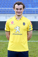 Julien FAUSSURIER - 04.10.2014 - Photo officielle Sochaux - Ligue 2 2014/2015<br /> Photo : Icon Sport