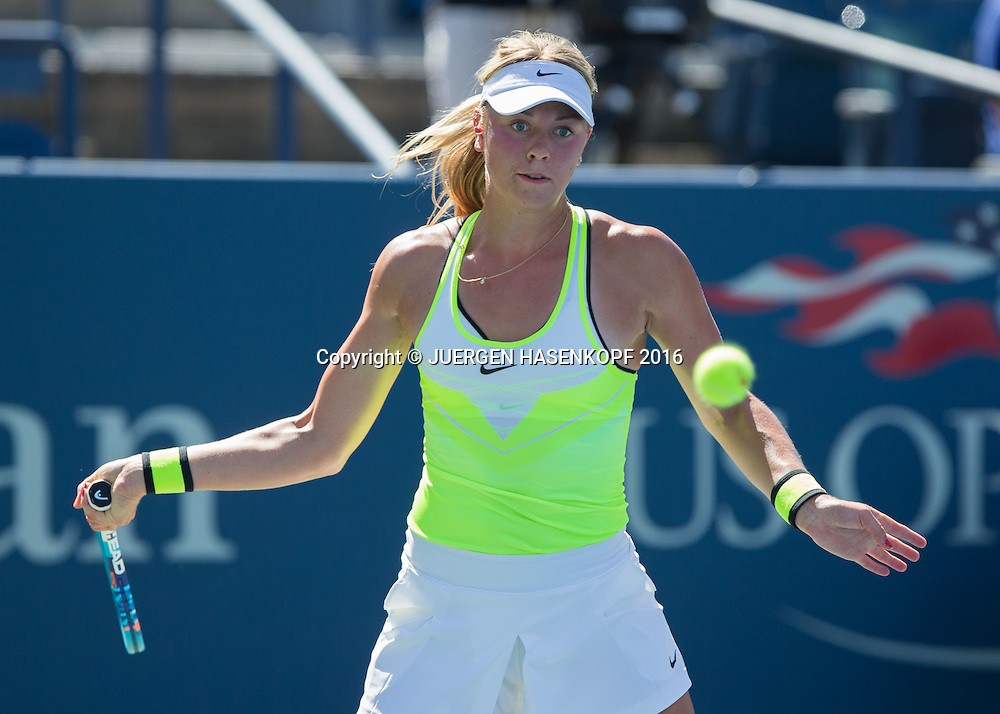CARINA WITTHOEFT (GER)<br /> <br /> Tennis - US Open 2016 - Grand Slam ITF / ATP / WTA -  USTA Billie Jean King National Tennis Center - New York - New York - USA  - 2 September 2016.