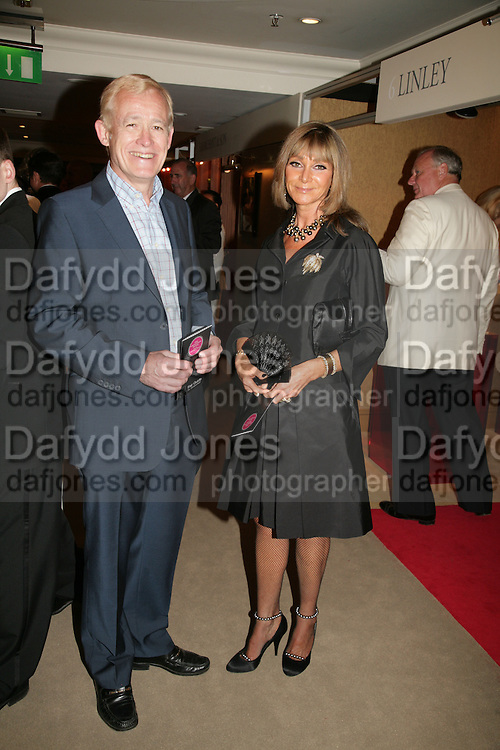 CHRIS GRIFFITHS AND ANGELA FINEMAN,  Grosvenor House Art & Antiques Fair charity gala evening in aid of Coram Foundation. Grosvenor House. Park Lane. London. 14 June 2007.  -DO NOT ARCHIVE-© Copyright Photograph by Dafydd Jones. 248 Clapham Rd. London SW9 0PZ. Tel 0207 820 0771. www.dafjones.com.