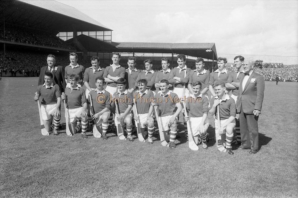 04/09/1966<br /> 09/04/1966<br /> 4 September 1966<br /> All-Ireland Senior Hurling Final: Kilkenny v Cork at Croke Park, Dublin.<br /> The Cork team which defeated the Kilkenny team in the All-Ireland Senior Hurling Final  in 1966.