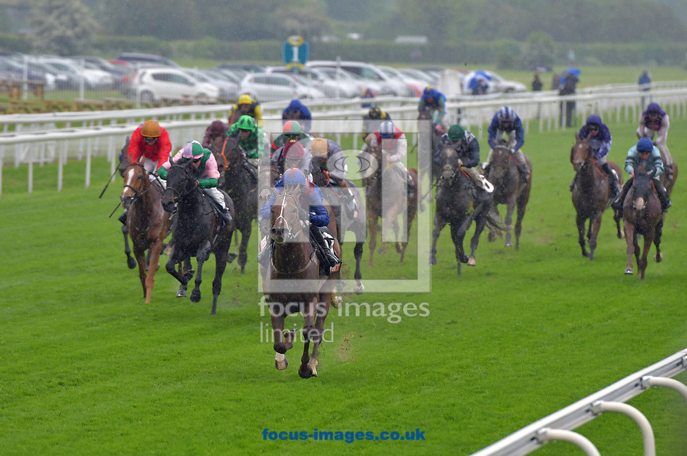 Master Carpenter ridden by Phillip Makin wins Sky Bet First race Special Handicap stakes on Tattersalls Musidora Stakes Day during the Dante Festival 2017 at York Racecourse, York.<br /> Picture by Martin Lynch/Focus Images Ltd 07501333150<br /> 17/05/2017