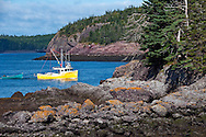 Fishing Boat in Blacks Harbour, New Brunswick