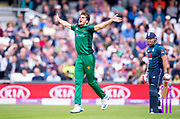 Picture by Allan McKenzie/SWpix.com - 19/05/2019 - Sport - Cricket - 5th Royal London One Day International - England v Pakistan - Emerald Headingley Cricket Ground, Leeds, England - Pakistan's Shaheen Afridi bowls.