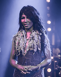 (EXCLUSIVE PICTURES) Sinitta at LGBT+ talent Awards at the Charing Cross Theatre in London, UK. 15/05/2016<br />