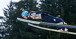 03.01.2015, Bergisel Schanze, Innsbruck, AUT, FIS Ski Sprung Weltcup, 63. Vierschanzentournee, Training, im Bild Vladimir Zografski (BUL) // Vladimir Zografski of Bulgaria in action during Trial Jump of 63 rd Four Hills Tournament of FIS Ski Jumping World Cup at the Bergisel Schanze, Innsbruck, Austria on 2015/01/03. EXPA Pictures © 2015, PhotoCredit: EXPA/ Peter Rinderer