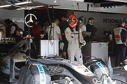 07.05.2010, Circuit de Catalunya, Barcelona, ESP, Formula One Championship, GP of Spain, im Bild .Michael Schumacher (GER), Mercedes GP .EXPA Pictures © 2010, PhotoCredit: EXPA/ InsideFoto/ Hasan Bratic / SPORTIDA PHOTO AGENCY