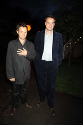 Left to right, JONATHAN YEO and JAMIE THEAKSTON at the annual Serpentine Gallery Summer Party in Kensington Gardens, London on 9th September 2008.