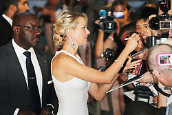 © Licensed to London News Pictures. 05/09/2013, UK.  Naomi Watts, Diana - World film premiere, Odeon cinema Leicester Square, London UK, 05 September 2013. Photo credit : Richard Goldschmidt/Piqtured/LNP