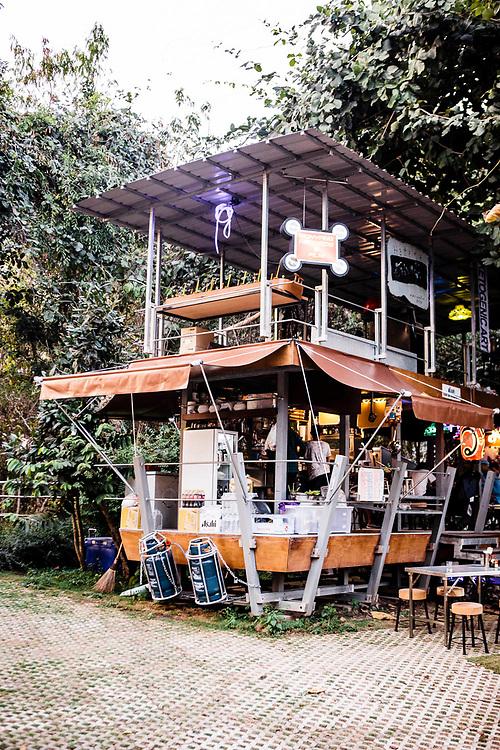 Artis run pop-up restaurant on the property of Rikrit Tiravanija